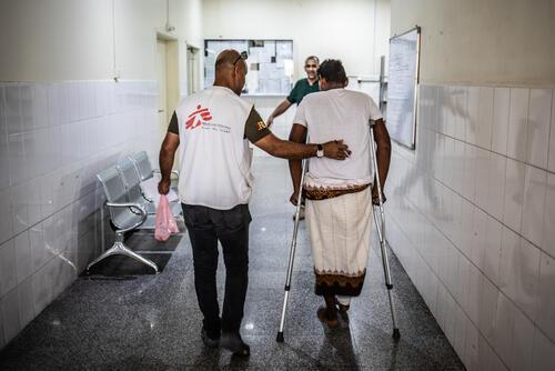 MSF Aden trauma hospital