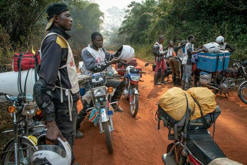 Democratic Republic of Congo, February 2020.