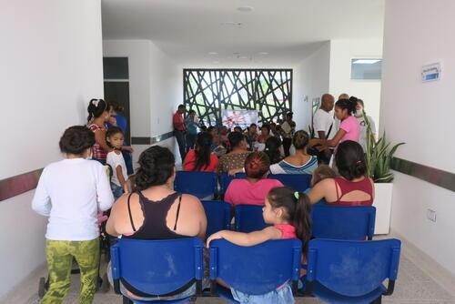 Medical care to Venezuelan migrants in Colombia