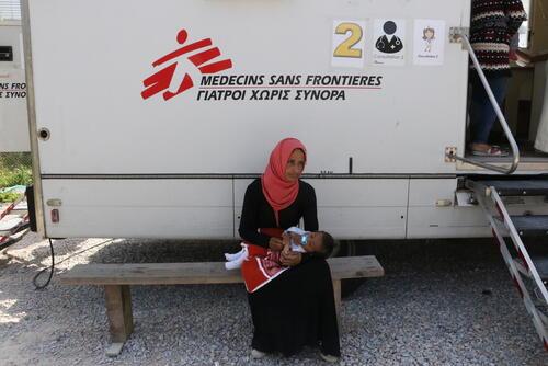 Mobile Clinic - Moria Camp