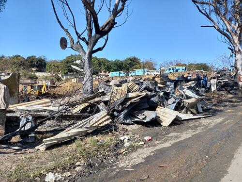 South Africa unrest: Durban response