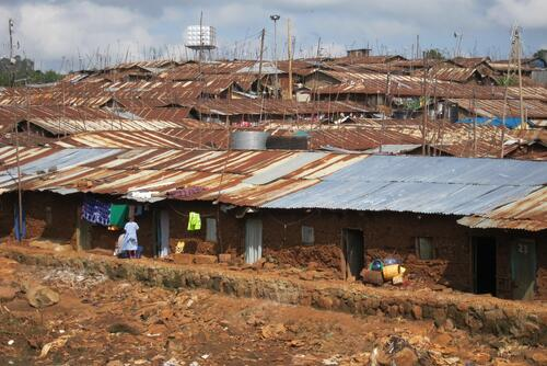 MSF New Clinic, Kibera South.