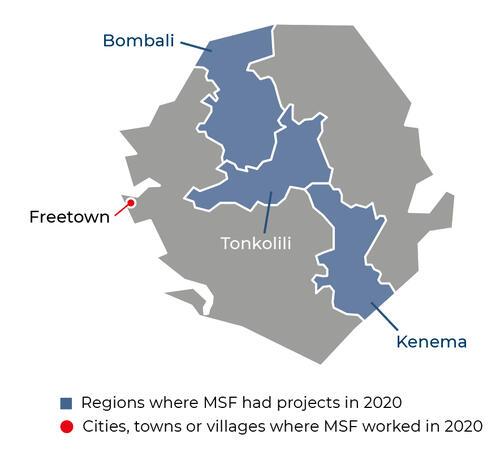 Sierra Leone Activities 2020