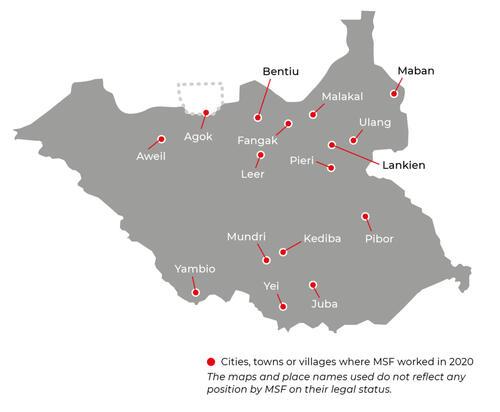 South Sudan Activities 2020