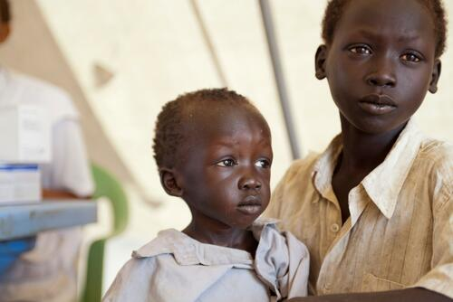 Refugee crisis South Sudan, Upper Nile State, Batil and Doro.