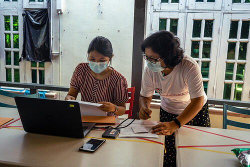 HIV Co-Infection Clinic - Yangon