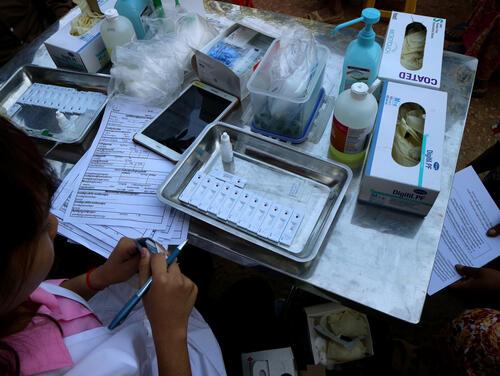 تشخيص وعلاج التهاب الكبد ج في كمبوديا