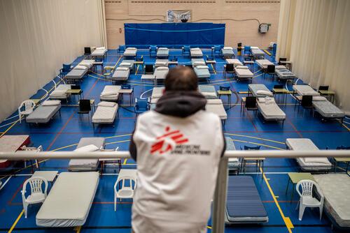 استجابة أطباء بلا حدود في ليغانيس اسبانيا