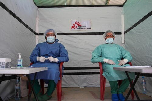 MSF Covid-19 Response in Pakistan