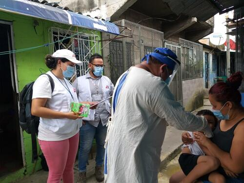 MSF facilitates MoH access in communities after primary health suspension due to pandemic