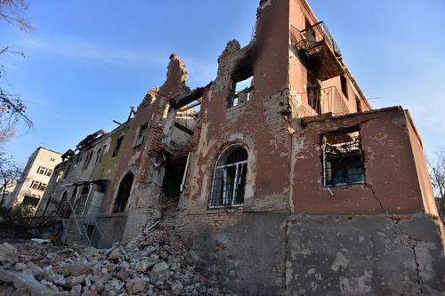 Ukraine Under Bombardment