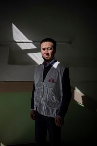 Portrait - ABDURAUPOV ISAMIDIN, MSF EPIDEMIOLOGIST