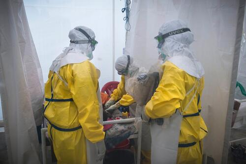 Prince of Wales MSF Ebola Medical Centre in Freetown