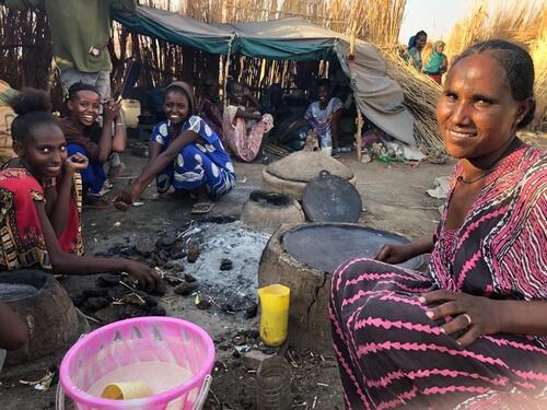Tafutoe Testimony | Hamdayet Reception Area