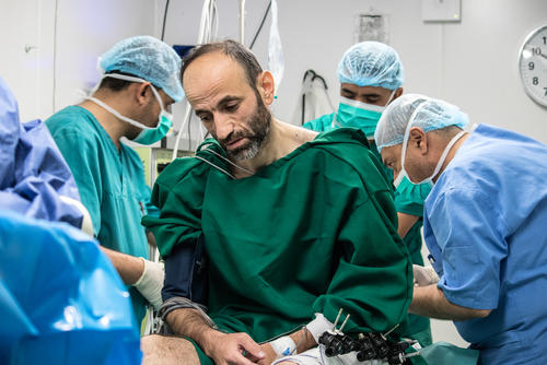 Nashwan - war wounded - Mosul