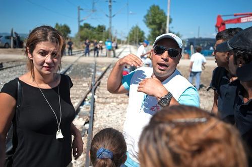 MSF Activities On The Greek / FYROM Border
