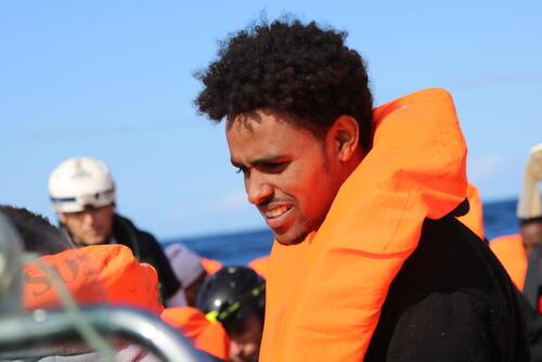 Ocean Viking - Rotation 4, Rescue 2 - Teodros