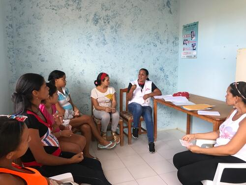 Sucre: Maternity care at Guaca clinic
