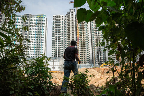 Rohingya in Malaysia: Context (Construction Site)