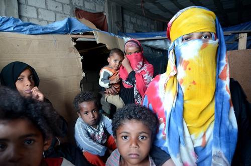 Internal displaced people in Al-Houban, Taiz, Yemen