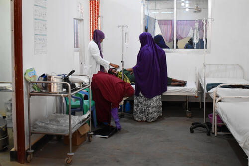 Addressing health needs of women and children in Baidoa