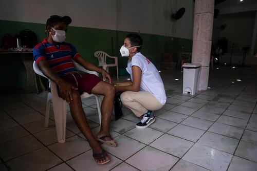Mobile clinics in Fortaleza, Brazil