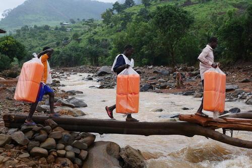Landslides in Freetown