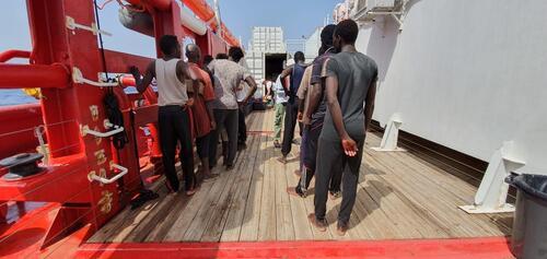 Ocean Viking First Rescue - August 9