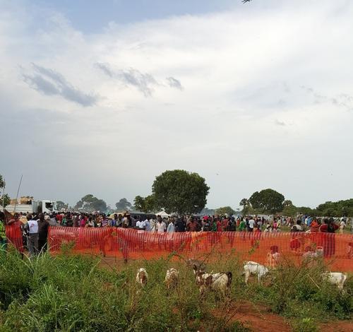 MSF mobile clinic in South Sudan