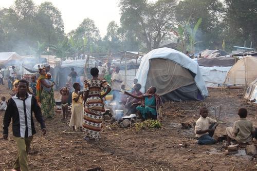 Emergency intervention in the Transit camp of Bubukwanga