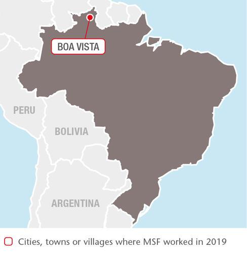 Brazil MSF projects in 2019