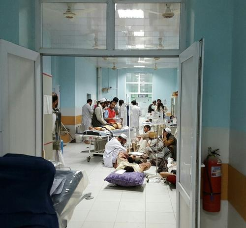 01 Oct 2015 - Kunduz Trauma Centre overwhelmed with wounded