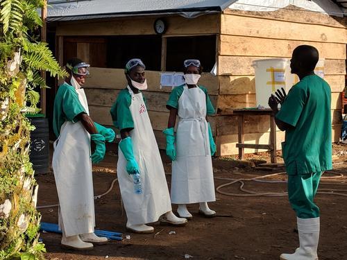 Ebola outbreak in Magina