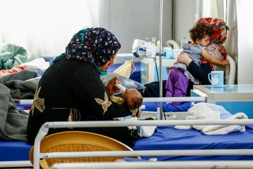 Paediatric care in Nablus hospital Mosul