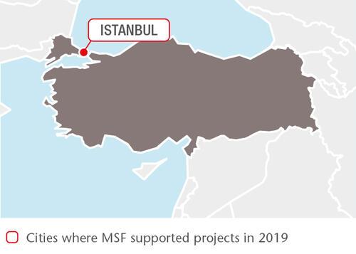 Turkey MSF projects in 2019