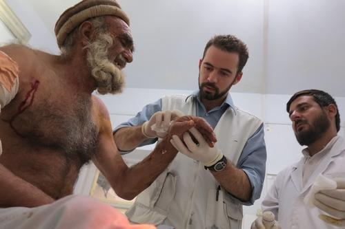 Emergency at Boost hospital Afghanistan