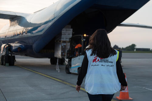 COVID-19: MSF SUPPLY CHALLENGES - Maastricht Airport