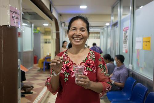 أنشطة أطباء بلا حدود في كمبوديا