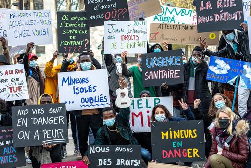 France, November 2020.