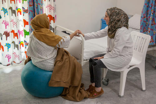 MSF's delivery services at the Birth centre, Rafik Hariri University Hospital Campus,
