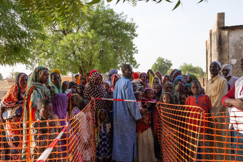 MSF Response Measles Vaccination (Am Timan District)
