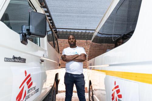 Lebogang Seketema, MSF Driver