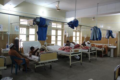 District Headquarter Hospital in Timurgara, Lower Dir District