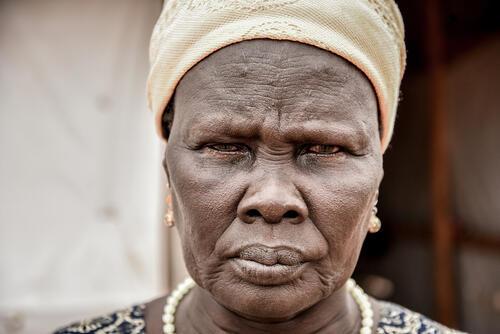 55-year-old Nyakun Kuok is a refugee in Dagahaley