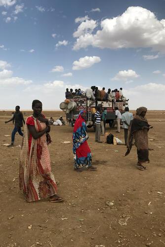 South Sudanese Arrive at Khor Wharal