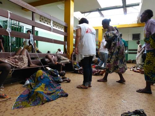 Community Hospital in Bangui