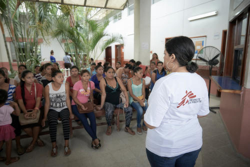 Sexual and reproductive healthcare in Choloma, Honduras