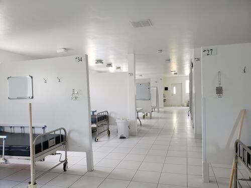 Drouillard COVID-19 Hospital Opening