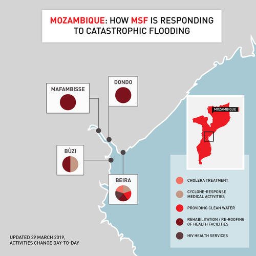 How MSF is responding to catastrophic flooding (Mozambique)