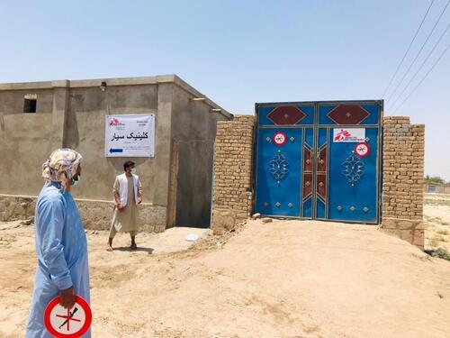MSF IDP activities in Kunduz July 2021